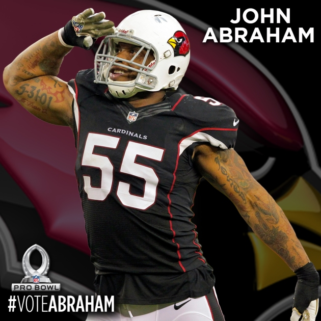 PRO BOWL PLAYER CARDS - ABRAHAM
