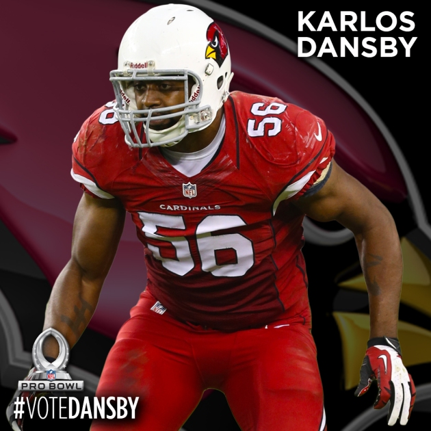 PRO BOWL PLAYER CARDS - DANSBY