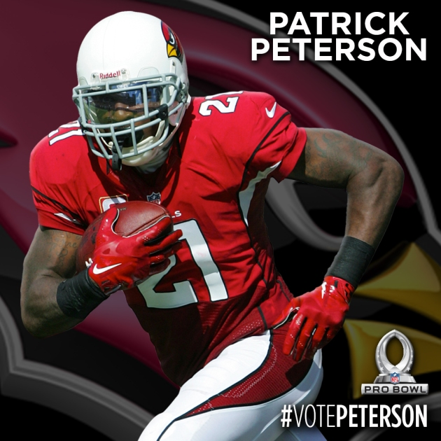 PRO BOWL PLAYER CARDS - PETERSON