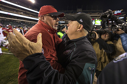 Bruce Arians, Chip Kelly